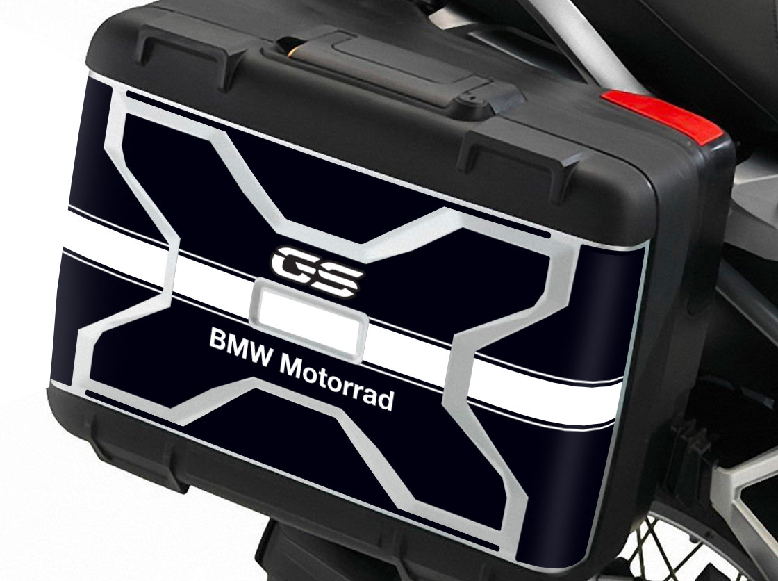 Kit Complete stickers bags suitcases bmw r1200 r1250 GS adventure bags stickers