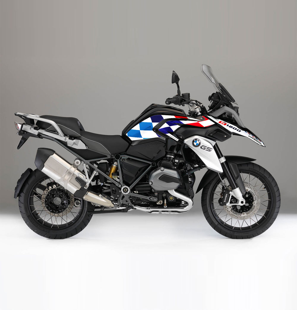 BMW R GS LC DAKAR Effetti Adventure BMW GS - Bmw motorcycle stickers and decals