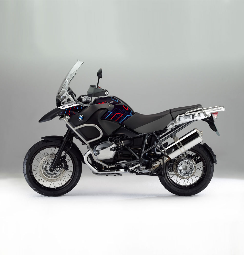 bmw r 1200 gs 08 12 adv arrow effetti adventure bmw gs graphics stickers decals. Black Bedroom Furniture Sets. Home Design Ideas